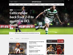 SportEdge Wordpress Live Score Theme