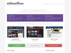 Virtuoso Wordpress Web Developers Theme