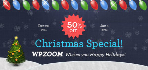 50% OFF Discount Coupon Code for Christmas and New Year 2012