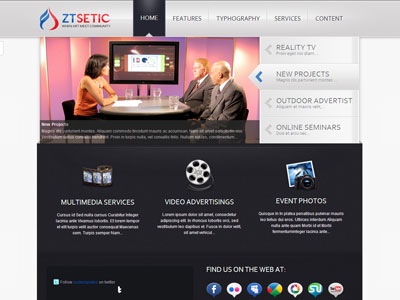 ZT Setic Joomla Television Template