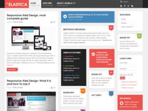 JA Elastica Free Joomla 1.7 Template