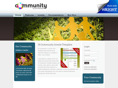 JS Community Joomla Fast Loading Template