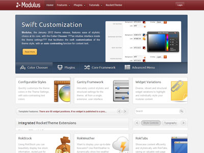 Modulus Wordpress Theme | Wordpress Stock Market Theme with Fusion ...