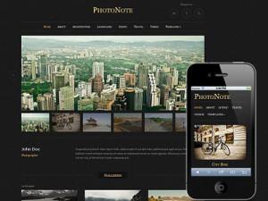 PhotoNote Wordpress Photography Theme