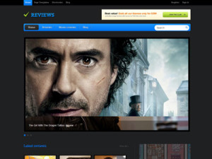 Reviews Wordpress Theme for Books
