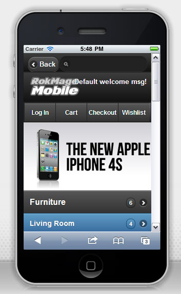 RokMage Mobile Magento Template