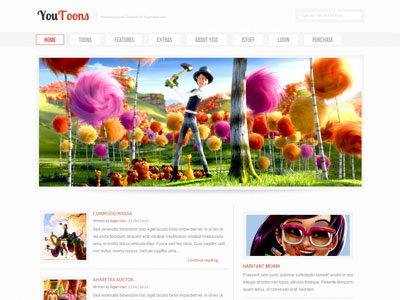 12 of the best joomla templates for kids, babies, & children.