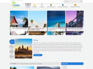 ZT Umbe Joomla Agency Template