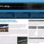 Flexx Blue Wordpress Theme