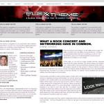Flexx Canvas Arial Wordpress Theme