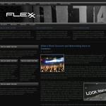 Flexx Dark Wordpress Theme