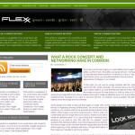 Flexx Green Wordpress Theme