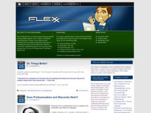 Flexx Professional Wordpress Theme