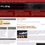 Flexx Red Wordpress Theme