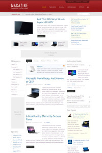 IT Magazine Joomla Magazine Style Template