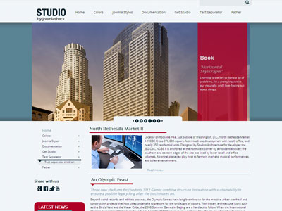 JS Studio Joomla Template | Professional Joomla Corporate Template ...