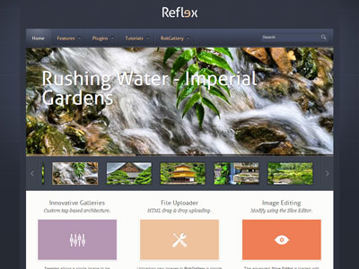 Reflex WordPress HTML5 Theme