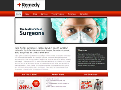 Remedy WordPress Health Care Theme