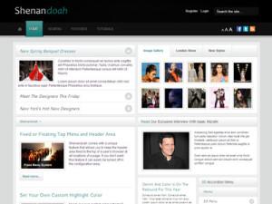 Shenandoah Wordpress Theme