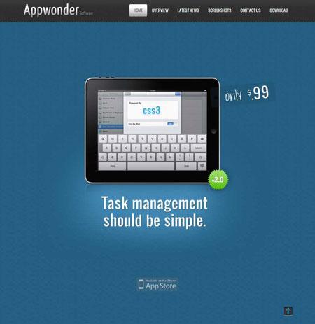 Appwonder WordPress App Store Theme