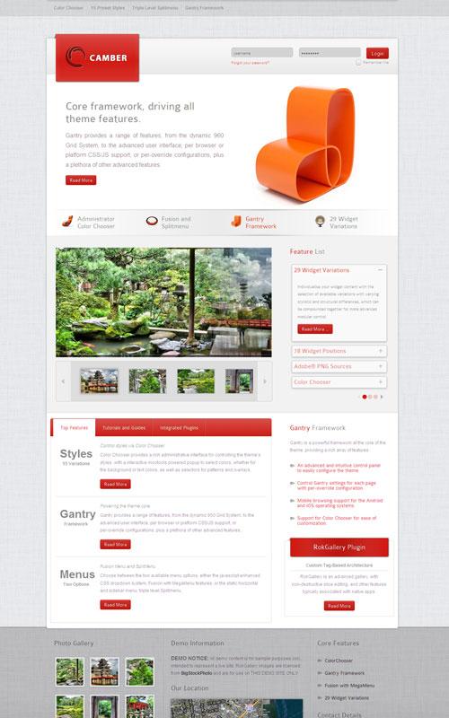 Camber WordPress Responsive Theme