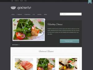 Epicure Joomla Responsive Slideshow Template
