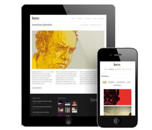 Hero Wordpress iPhone Theme
