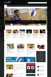 JA Orisite Joomla Template | Professional Joomla Sport News Template with Free Joomla Extensions
