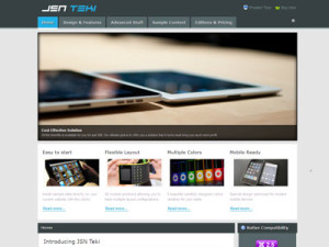 JSN Epic, Dome, Tendo, Teki Best Free & Premium Joomla Templates from JoomlaShine