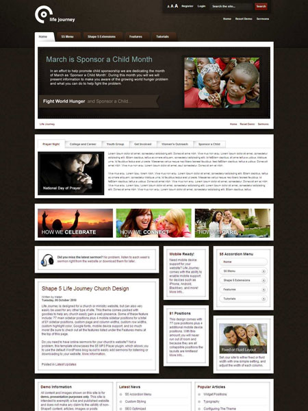 Life Journey WordPress Church Theme