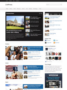 LitePress WordPress Responsive Magazine Theme