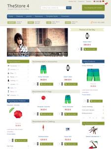 IT TheStore 4 Joomla eCommerce Template