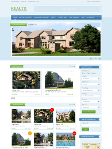 Realtr WordPress Responsive Real Estate Theme