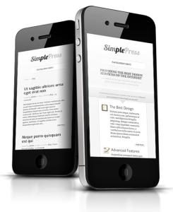 SimplePress WordPress Responsive Business Theme