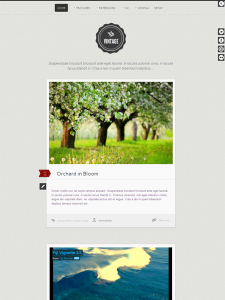 Vintage Joomla Template for Tumblr Style Blog with Responsive Design