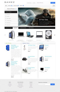 HelloGamez Magento iPhone Theme for Xbox 360 & Video Games Store