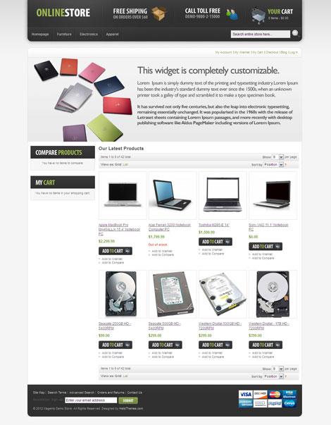 HelloPod Magento eCommerce Theme