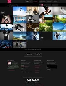 JA Lens Responsive Joomla Template for K2 & Acymailing Component