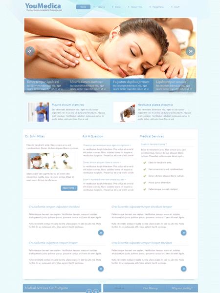 YouMedica Joomla Medical Template