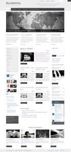 Black & White – A Free Premium Joomla 2.5 Template from IceTheme