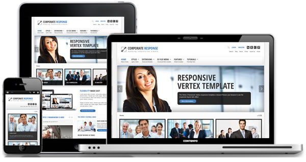Corporate Response Joomla Mobile Template