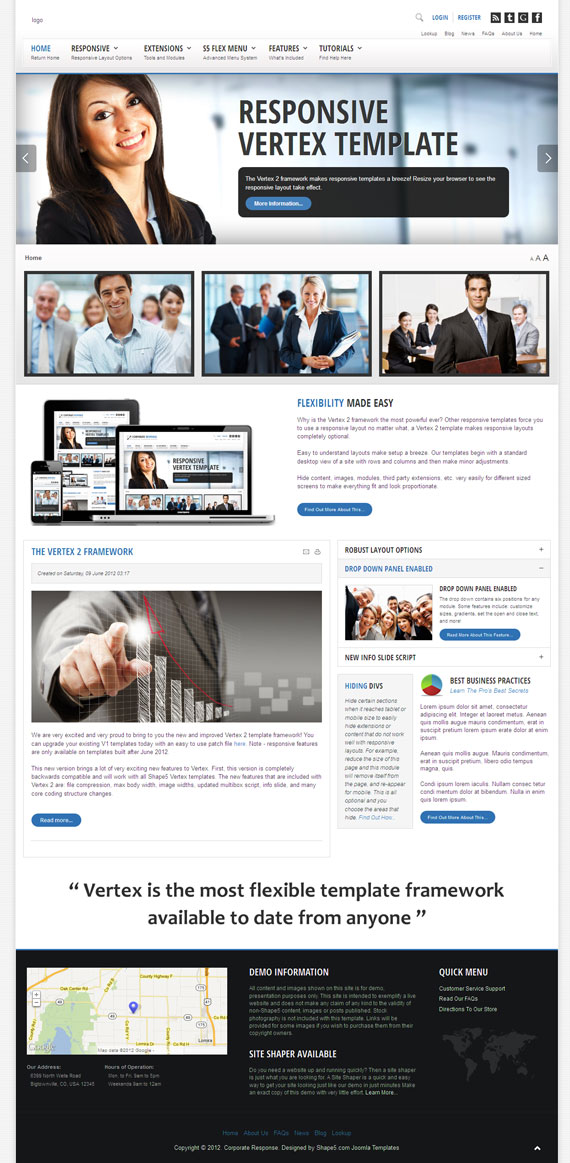 Corporate Response Joomla Template