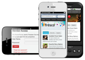 Fresco Joomla iPhone Template