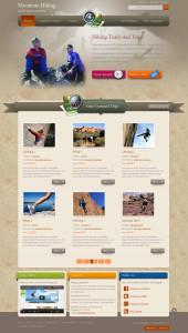 JM Hiking Joomla Outdoor Adventure Template for Rock Climbing & Mountain Bike