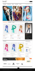 JM Scerif Magento Theme for Online Apparel or Clothing Store