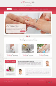 JM Wedding06 Responsive Joomla Template