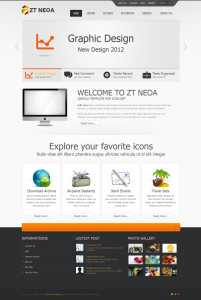 ZT Neoa Joomla Template designed with HTML5, CSS3 Web Technologies