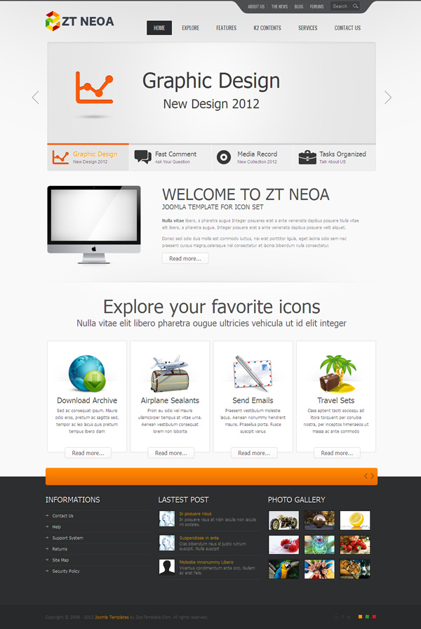 ZT Neoa Joomla Business Template