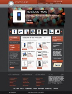 Ionosphere Magento eCommerce Theme