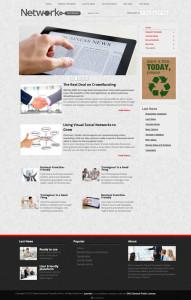 Network Joomla Business Template
